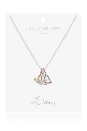Picture of Joma Jewellery Florence Outline Heart Necklace