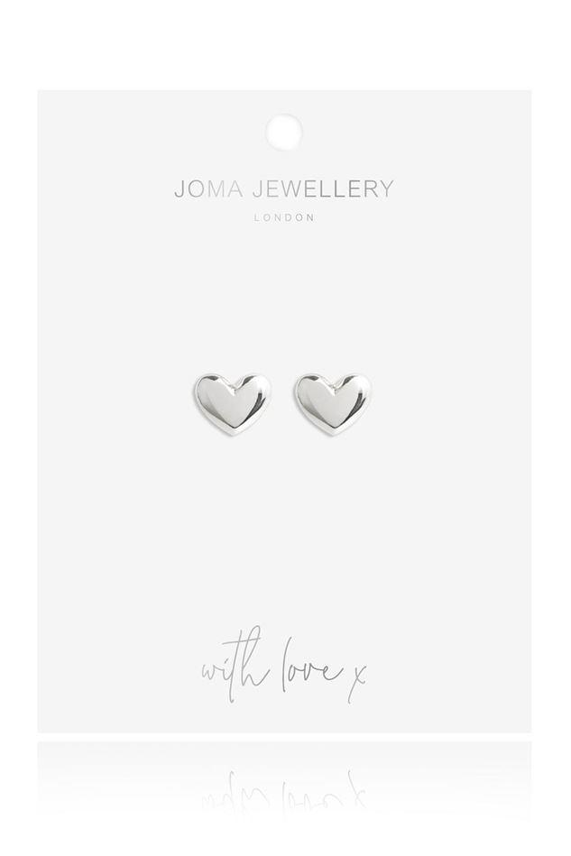 Picture of Joma Jewellery Lila Heart Earrings