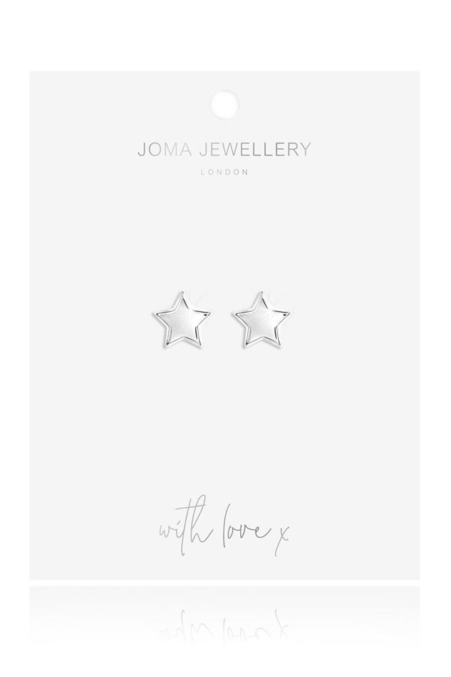 Picture of Joma Jewellery Lila Star Stud Earrings