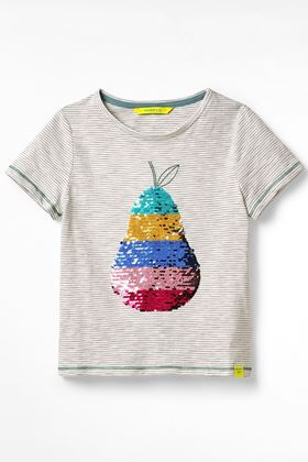 Picture of White Stuff KIds Pear Sequin Jersey Tee