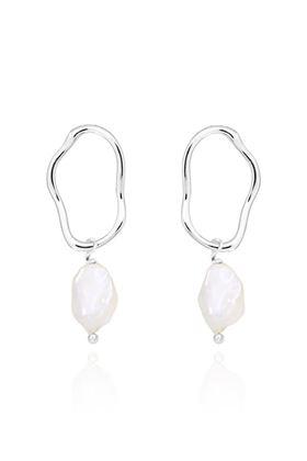 Picture of Joma Jewellery Isla Pearl Dangle Earrings