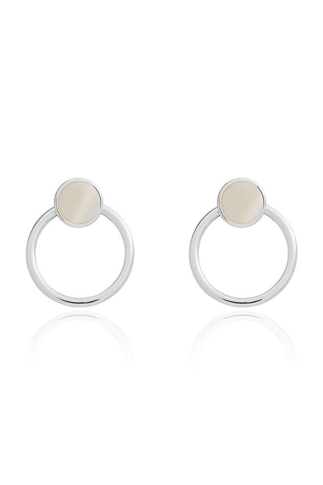 Picture of Joma Jewellery Statement Shell Earrings