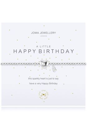 Picture of Joma Jewellery a little Happy Birthday bracelet