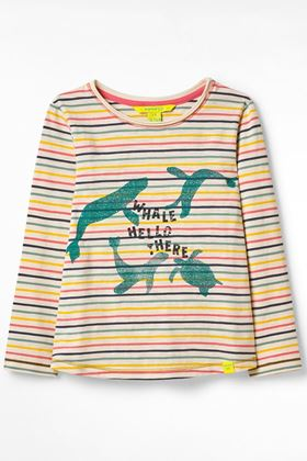 Picture of White Stuff Kid's Positivity Organic Jersey Tee