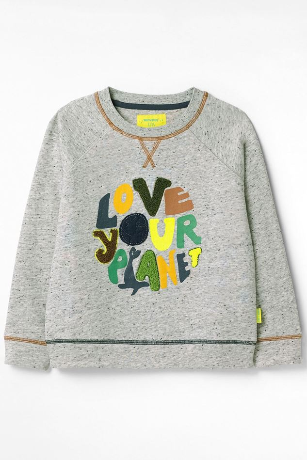 Picture of White Stuff Kids Love Your Planet Jersey Sweat