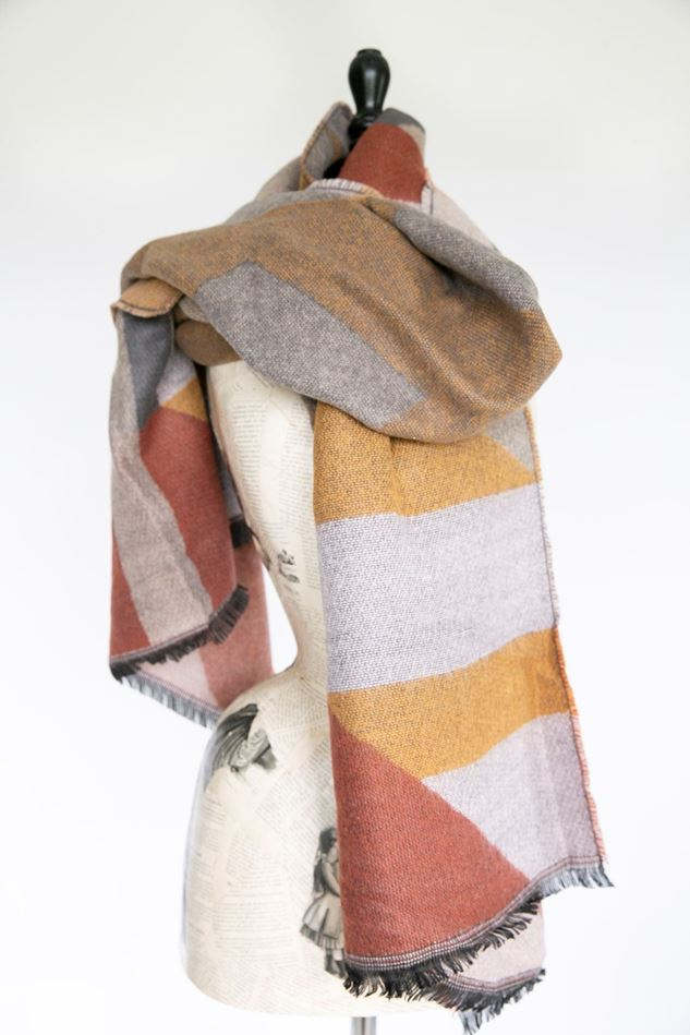 Picture of Aztec Print Blanket Scarf