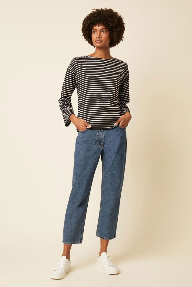 Picture of Great Plains Bebe Breton Long Sleeve Top