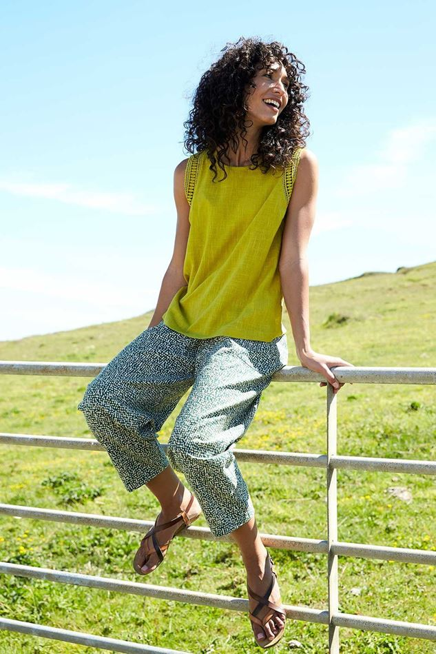 Picture of Nomads Cobble Relaxed Fit Crop Trouser