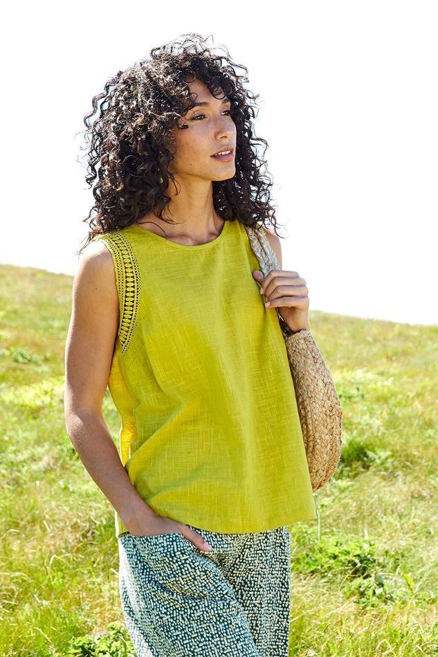 Picture of Nomads Crochet Cotton Vest