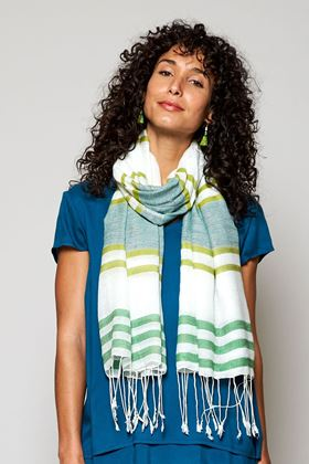 Picture of Nomads Handloom Twin Stripe Scarf