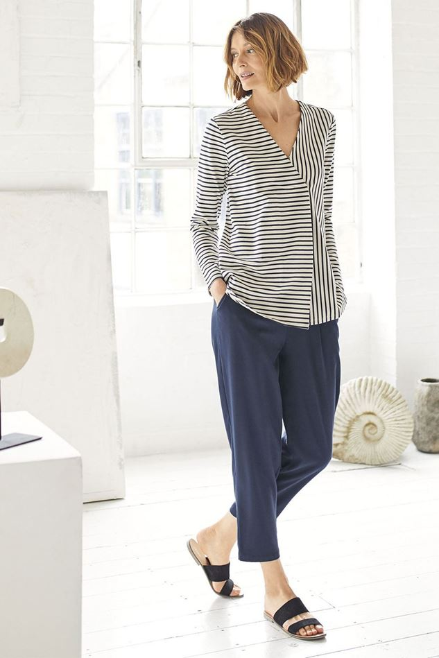 Picture of Thought Ronan Organic Cotton Stripe Tee