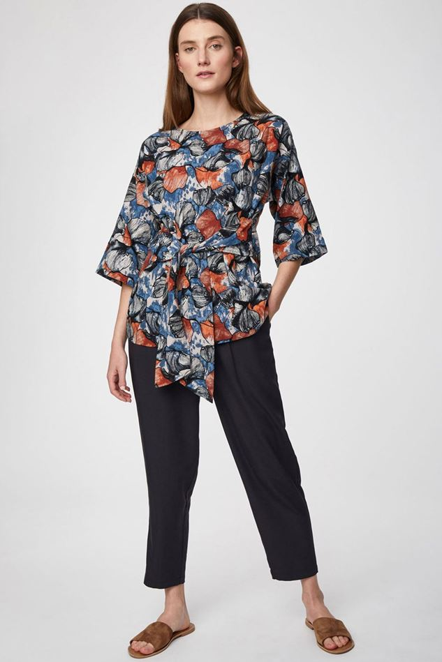 Picture of Thought Katie Bamboo Drawstring Tailored Trousers