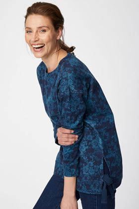Picture of Thought Lela Organic Cotton Floral Sweater