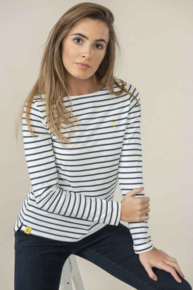 Picture of Lighthouse Causeway Stripe Top