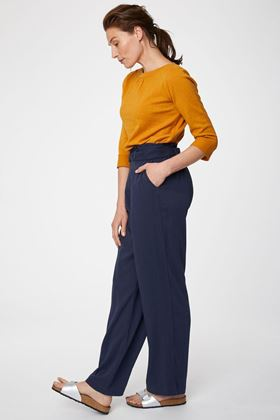 Picture of Thought Anzola Belted Bamboo Trousers
