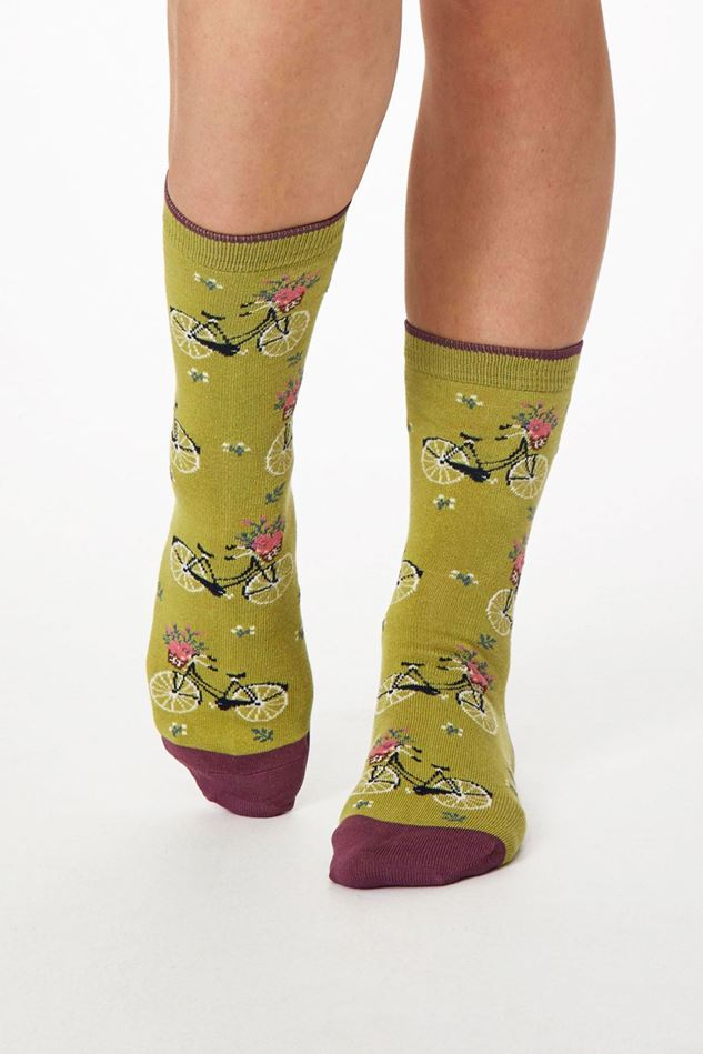 Picture of Thought Bicicletta Bamboo Bicycle Socks