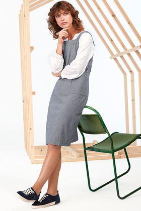 Picture of White Stuff Arty Stripe Pinny Dress