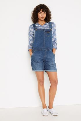 Picture of White Stuff Shorts Denim Dungaree