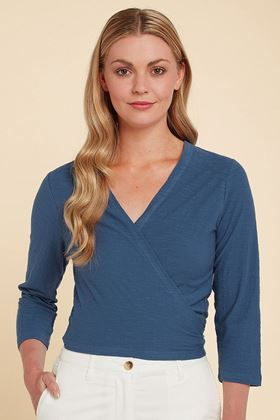 Picture of Adini Heather Wrap Top