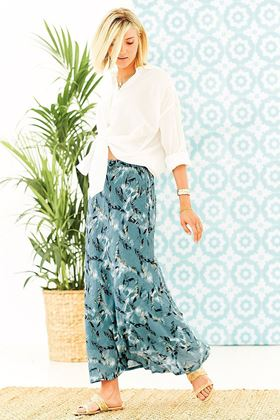 Picture of Adini Maura Skirt Sirocco Print