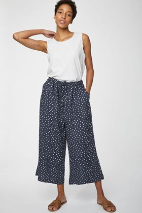 Picture of Thought Miriam Wide Leg Hemp Culottes