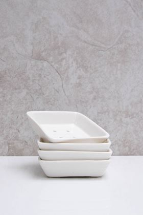 Picture of Chalk Porcelain Soap Dish