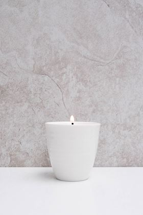 Picture of Chalk Black Pomegranate Candle