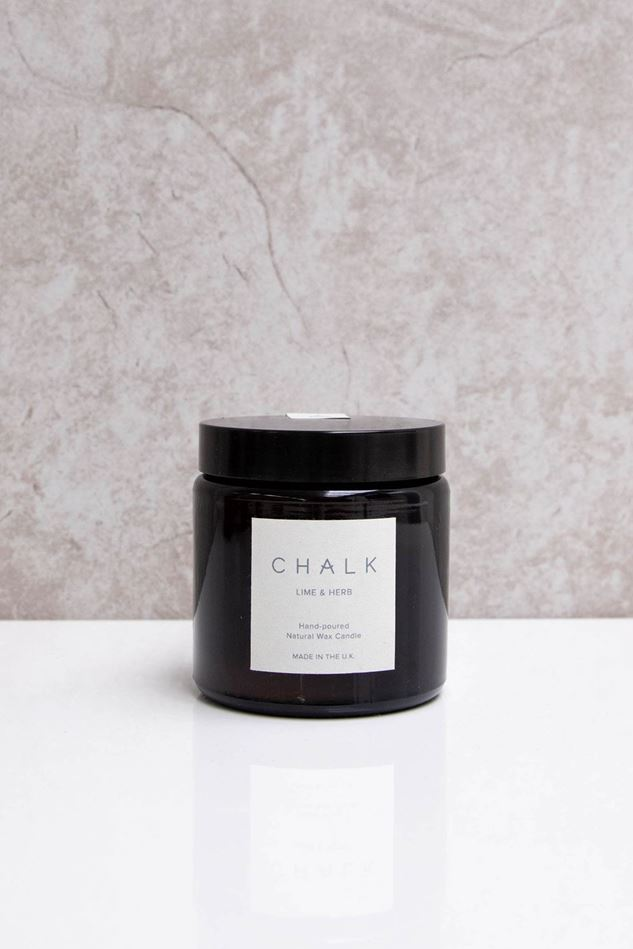 Picture of Chalk Lime and Herb Candle