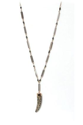 Picture of Envy Jewellery Long Animal Print Bead Necklace