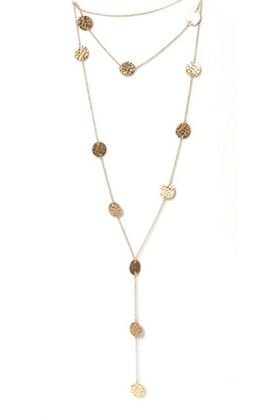 Picture of Envy Jewellery Multi Layer Gold Coin Necklace