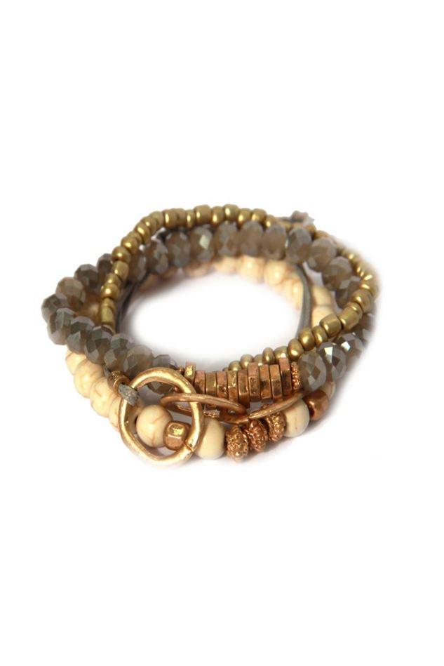 Picture of Envy Jewellery Multi Strand Beaded Bracelet