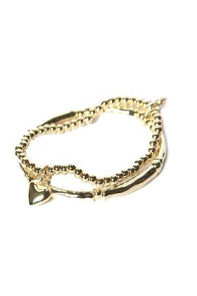 Picture of Envy Jewellery Double Layered Gold Bracelet