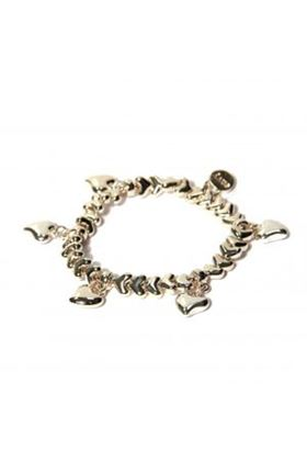 Picture of Envy Jewellery Stretchy Heart Charm Bracelet