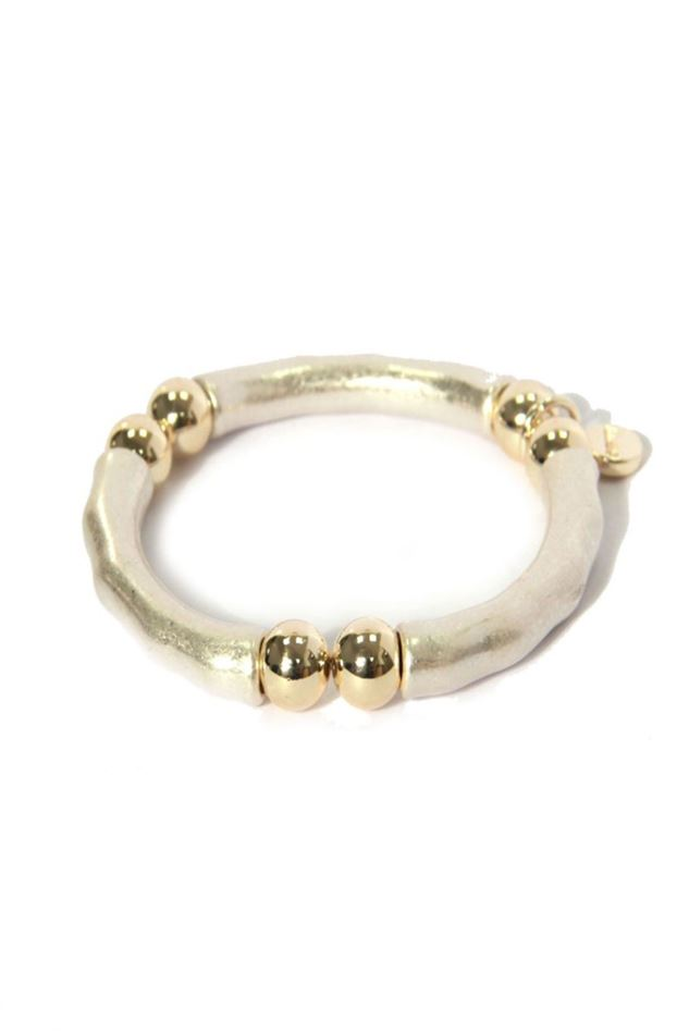 Picture of Envy Jewellery Two Tone Stretch Bracelet