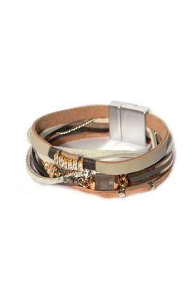 Picture of Envy Jewellery Multi Strand Grey Bracelet