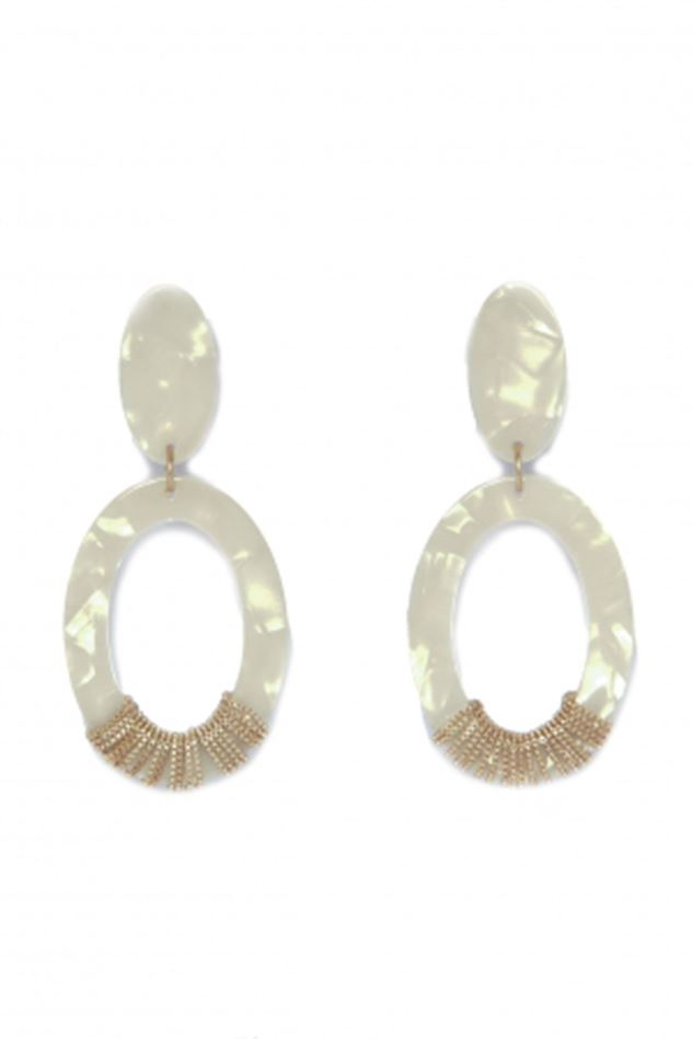 Picture of Envy Jewellery Pearecent  Drop Earrings