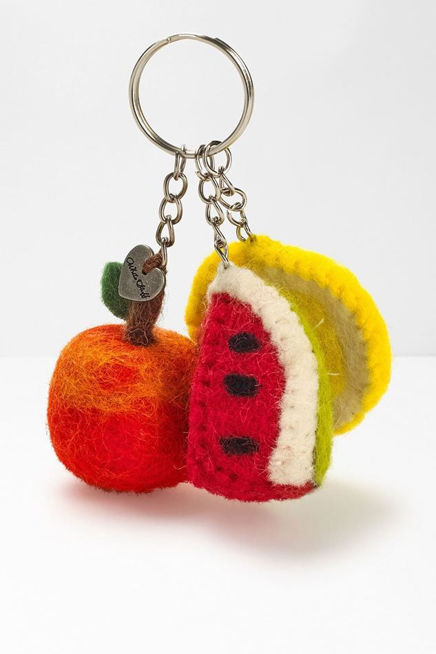 Picture of White Stuff Trio of Fruit Keyring