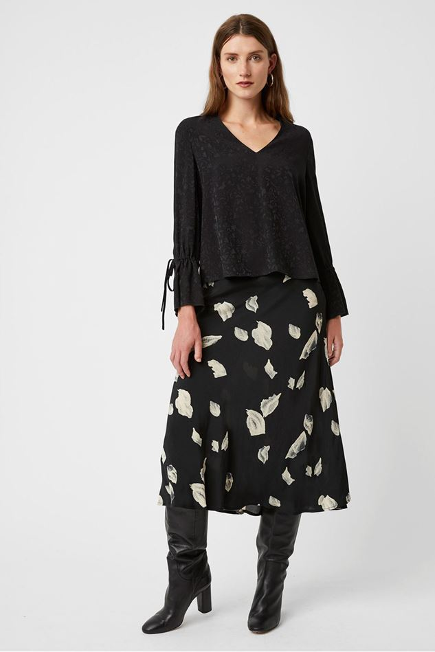 Picture of Great Plains Peppy Jacquard Long Sleeve Top