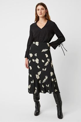 Picture of Great Plains Winter Umbra Midi Skirt