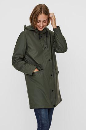 Picture of Vero Moda Asta Long Rain Coat