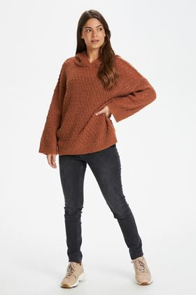 Picture of Part Two Evelin Knitted Pullover Hoody