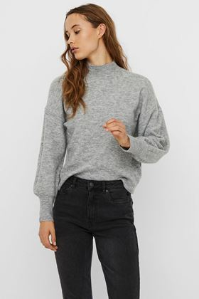 Picture of Vero Moda Simone High Neck Knitted Pullover