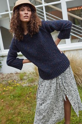 Picture of Great Plains Julia Knit Crew Neck Jumper