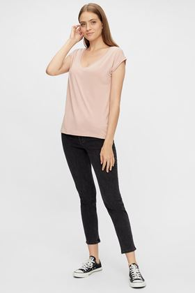 Picture of Pieces Lili Mis Rise Slim Fit Jeans
