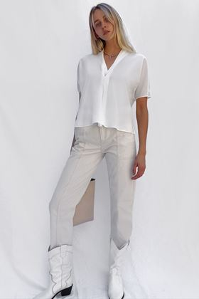 Picture of French Connection Ineta Light V Neck Top