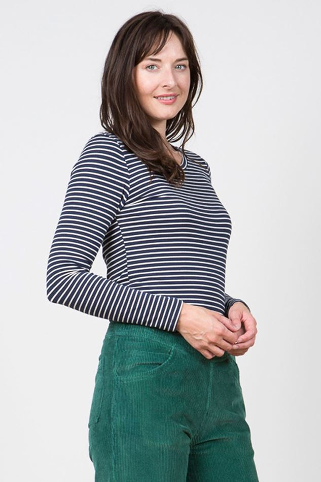 Picture of Lily & Me Layering  Stripe Tee