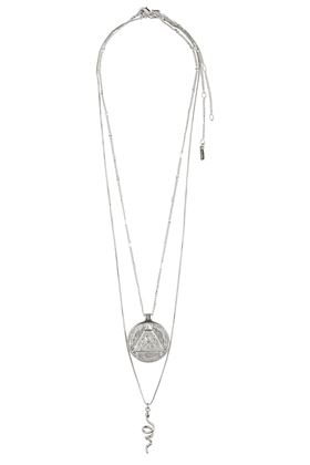 Picture of Pilgrim Sensitivity Silver Plated Necklace