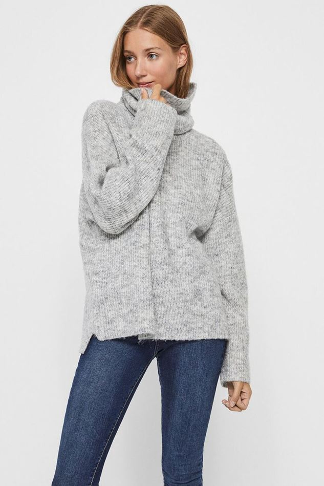 Picture of Vero Moda Daisy High Neck Knitted Pullover