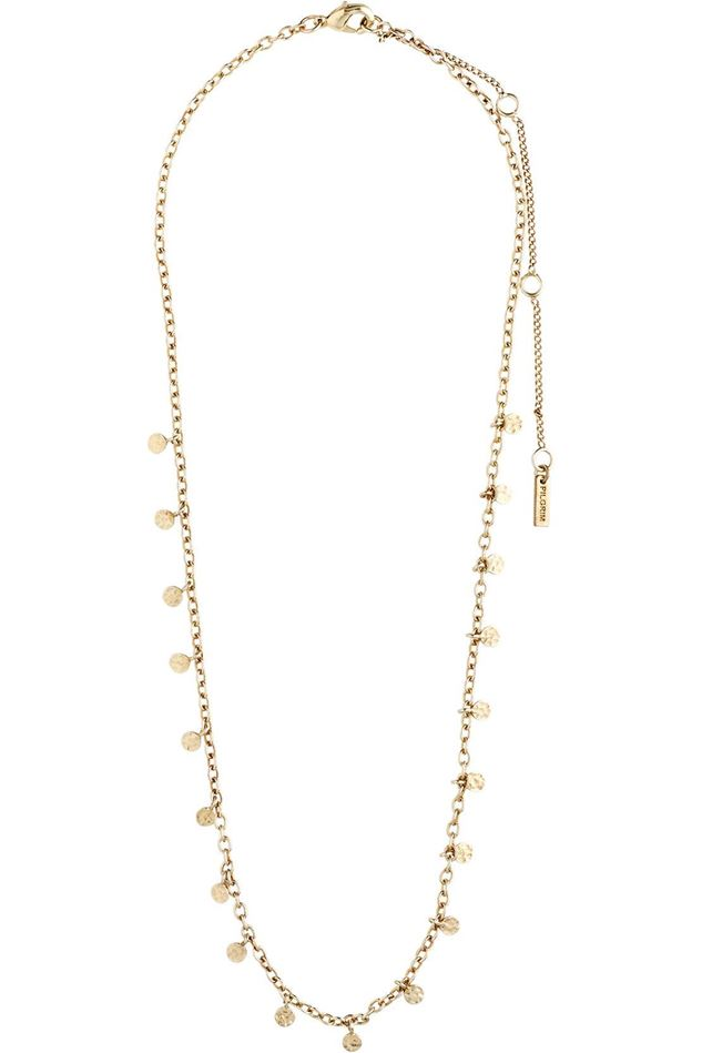 Picture of Pilgrim Panna Gold Plated Necklace