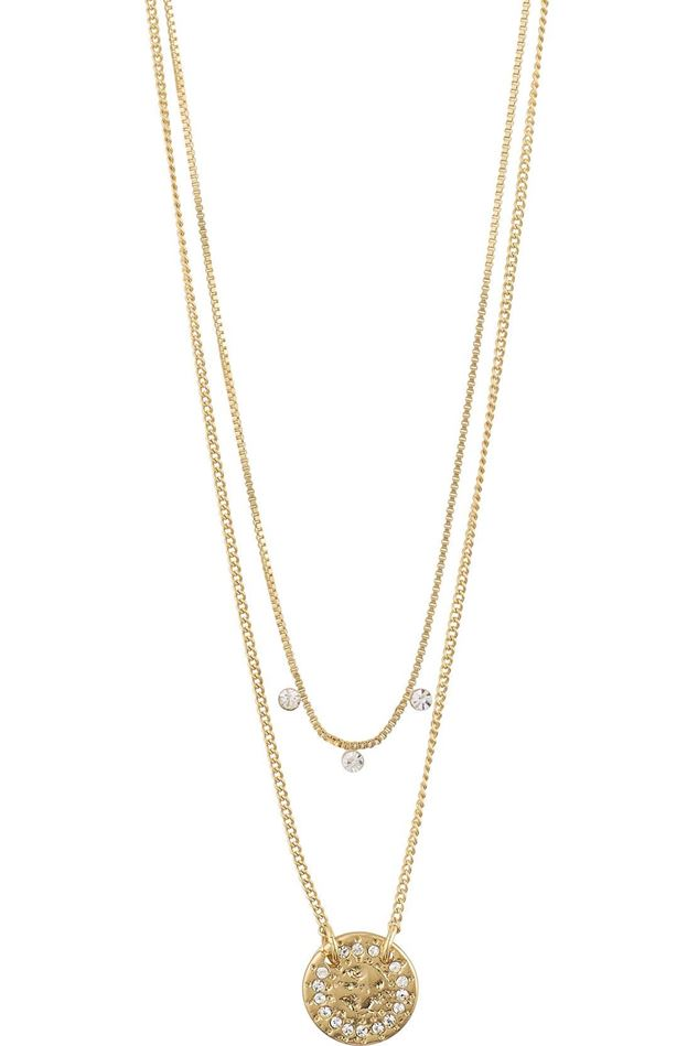 Picture of Pilgrim Compassion Gold Plated Crystal Necklace
